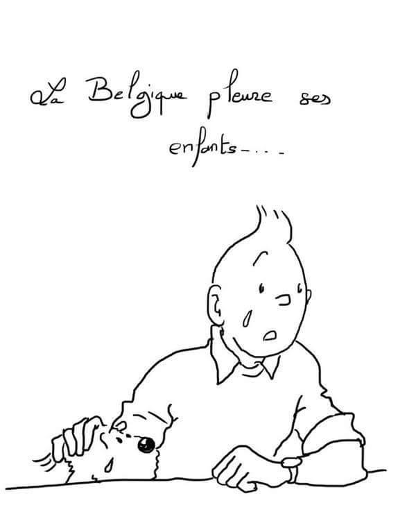 Ens sumem al condol per Bèlgica