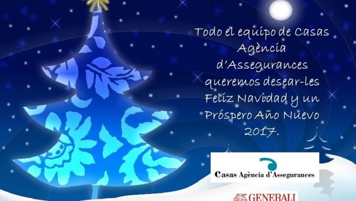 Felicitación de Navidad en castellano