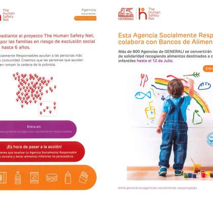 Aquesta Agència Socialment Responsable col·labora amb Bancs d'Aliments